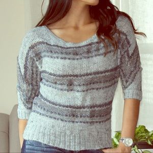 Aerie Gray Sweater Size Medium